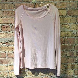 Lululemon pink LS top, sz 8, 56918